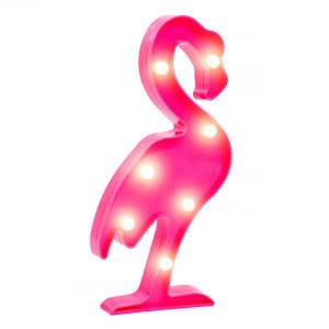 Flamingo Luminoso LED - 29 cm - 1 Unidade