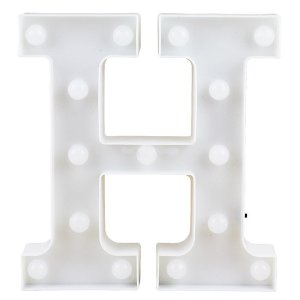 Letras Luminosas LED/ H - 22 CM - 1 Unidade