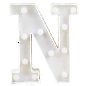 Letras Luminosas LED/ N - 22 CM - 1 Unidade
