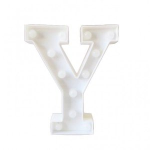 Letras Luminosas LED/ Y - 22 CM - 1 Unidade