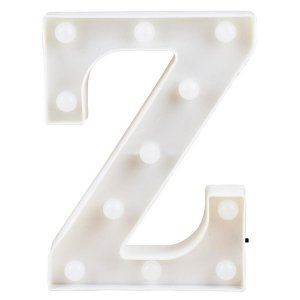 Letras Luminosas LED/ Z - 22 CM - 1 Unidade