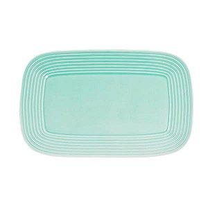 Pratos de Cerâmica Quadrado Sweet - 32.5 x 20.5 cm - 1 Unidade