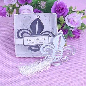 Kit Marcador de Páginas Flor de Lis - 10 Unidades