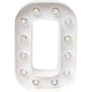 Número Luminoso LED/ 0 - 22 CM - 1 Unidade