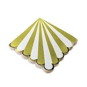 Guardanapo Waves  - 33 x 33 cm. Embalagem com 20 folhas