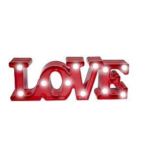 Love Luminoso LED - 30 cm - 1 Unidade