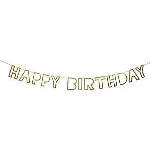 Guirlanda Feliz Aniversário - 1 Unidade
