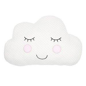 Almofada Nuvem Branca - 1 Unidade