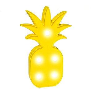 Abacaxi Amarelo Led - 1 Unidade