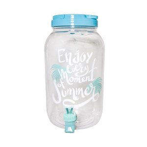 Suqueira Plástico Enjoy Summer - 1 Unidade