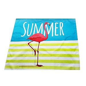 Tolha de Mesa Summer Flamingo - 1 Unidade