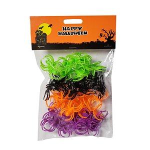 Kit Anéis Aranhas Halloween - 1 Unidade