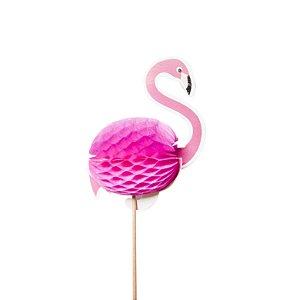 Topper Flamingo Califórnia - Embalagem com 12 Unidades