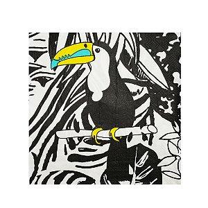 Guardanapo Tucano Black Lines - Embalagem com 20 Folhas