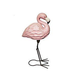 Flamingo Cerâmica Decorativo  - 1 Unidade