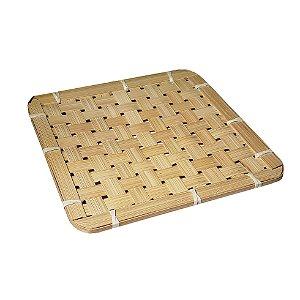 Suporte de Bambu Square - 1 Unidade