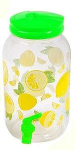 Suqueira de Plástico Lemon Grab - 3,8L