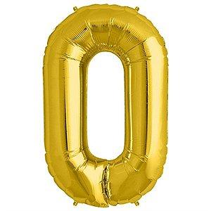 Balão Decorativo Número 0  - 1 Unidade