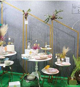 PAINEL DECORATIVO DE FERRO HOUSE 74x230cm/74x198cm/74x180cm 3pcs