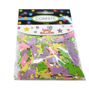 CONFETE DE PLASTICO RABBIT COLORS 20g