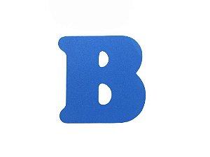 Letra B - Média em E.V.A Várias Cores - 1 Unidade