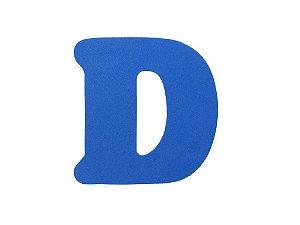 Letra D - Média em E.V.A Várias Cores - 1 Unidade