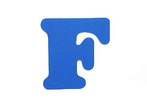 Letra F - Média em E.V.A Várias Cores - 1 Unidade