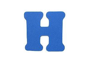 Letra H - Média em E.V.A Várias Cores - 1 Unidade