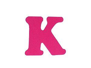 Letra K - Média em E.V.A Várias Cores - 1 Unidade