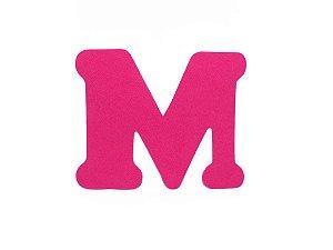Letra M - Média em E.V.A Várias Cores - 1 Unidade