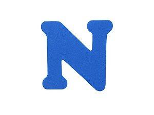 Letra N - Média em E.V.A Várias Cores - 1 Unidade