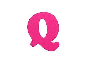 Letra Q - Média em E.V.A Várias Cores - 1 Unidade