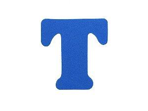 Letra T - Média em E.V.A Várias Cores - 1 Unidade