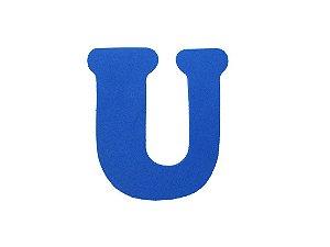 Letra U - Média em E.V.A Várias Cores - 1 Unidade