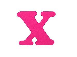 Letra X - Média em E.V.A Várias Cores - 1 Unidade