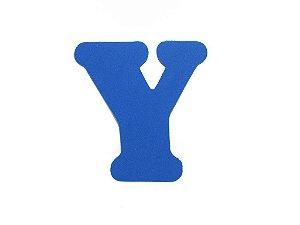 Letra Y - Média em E.V.A Várias Cores - 1 Unidade
