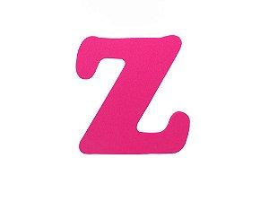 Letra Z - Média em E.V.A Várias Cores - 1 Unidade