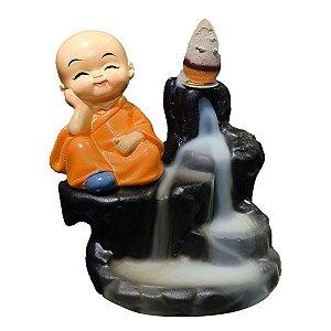 Incensário Cascata Buda Baby Relax + Brinde