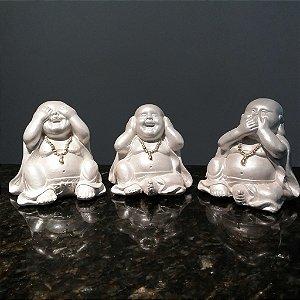 Mini Budas Sábios - Pérola