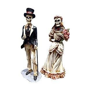Casal de Noivos Skeleton