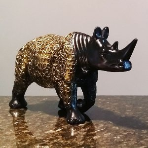 Rinoceronte Egípcio Brilhante