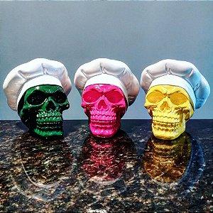 Trio de Caveiras Master Chef