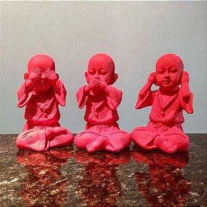 Trio de Budas Sábios Mono Colors