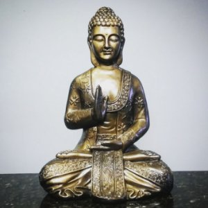 Big Buda Abhaya Mudra Gold