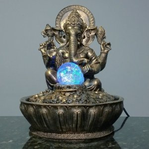 Fonte Ganesha Old Gold