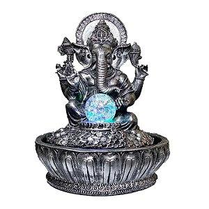 Fonte Ganesha Old Silver