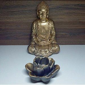 Buda Zen Lótus Gold