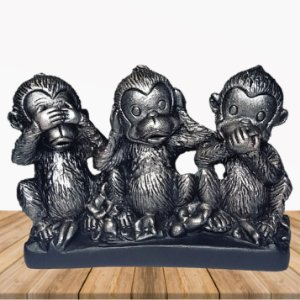 Macacos Sábios Silver