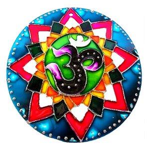 Mandala OM Colors