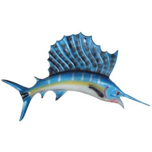 Peixe Agulhão Saillfish de Parede